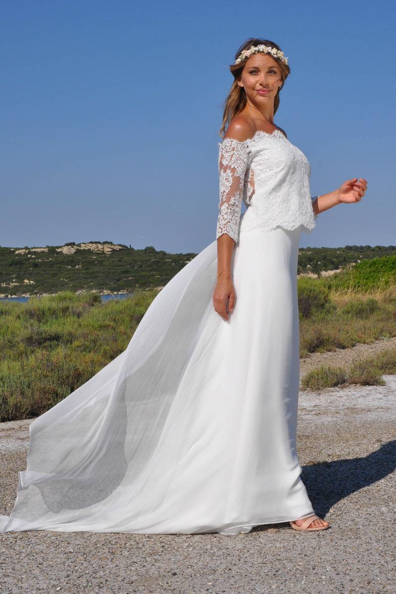 Robe Anthea - Les Mariés de Provence