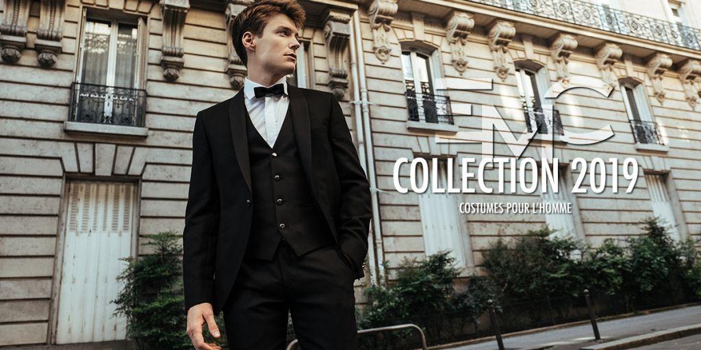 De Collection 2019 Marié Costume Nouvelle wPv8OymnN0